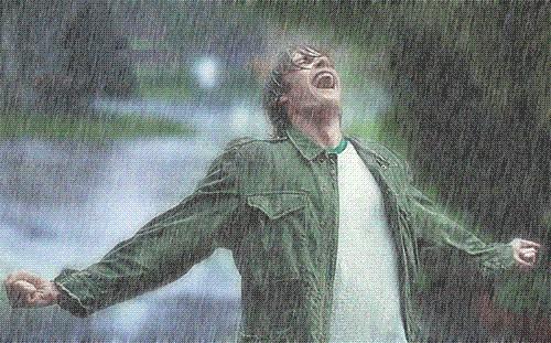 mi-ar placea sa urasc ploaia